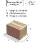 Cách tính kg khi gửi hàng đi Mỹ, Vận chuyển hàng đi Úc